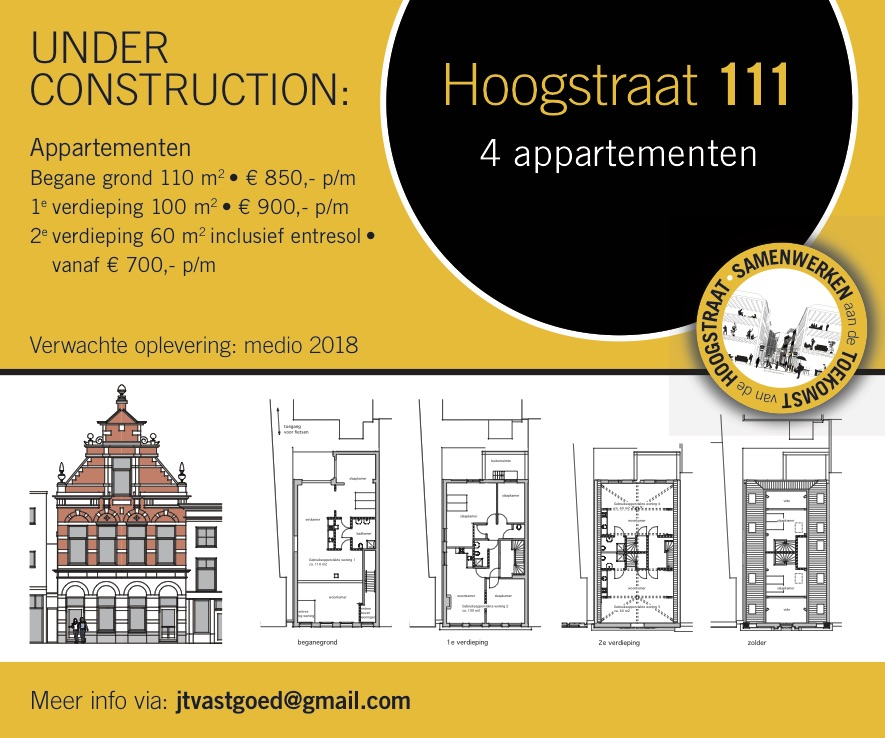 Hoogstraat 111 Schiedam Under Construction