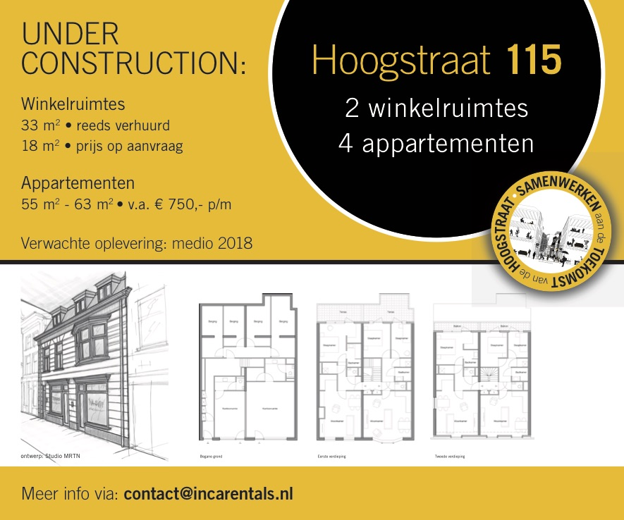Hoogstraat 115 Schiedam Under Construction
