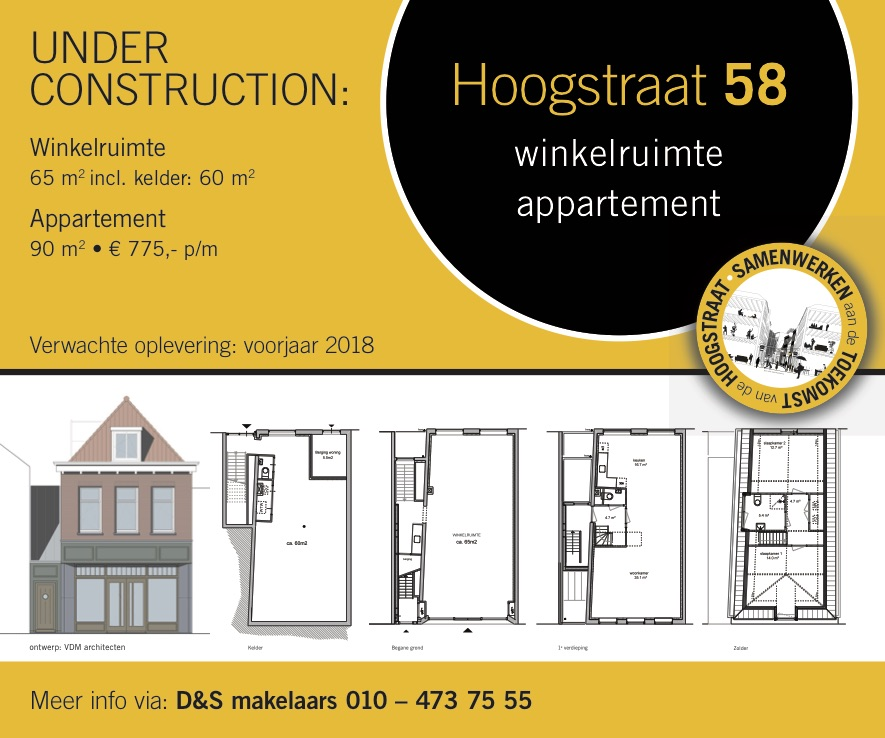 Hoogstraat 58 Schiedam Under Construction