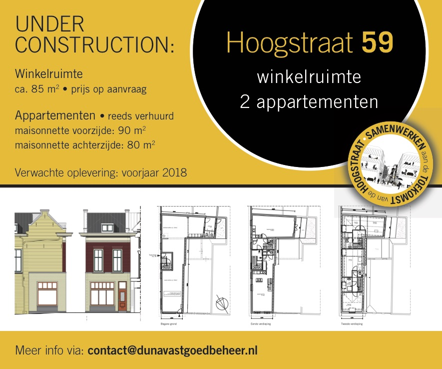 Hoogstraat 59 Schiedam Under Construction