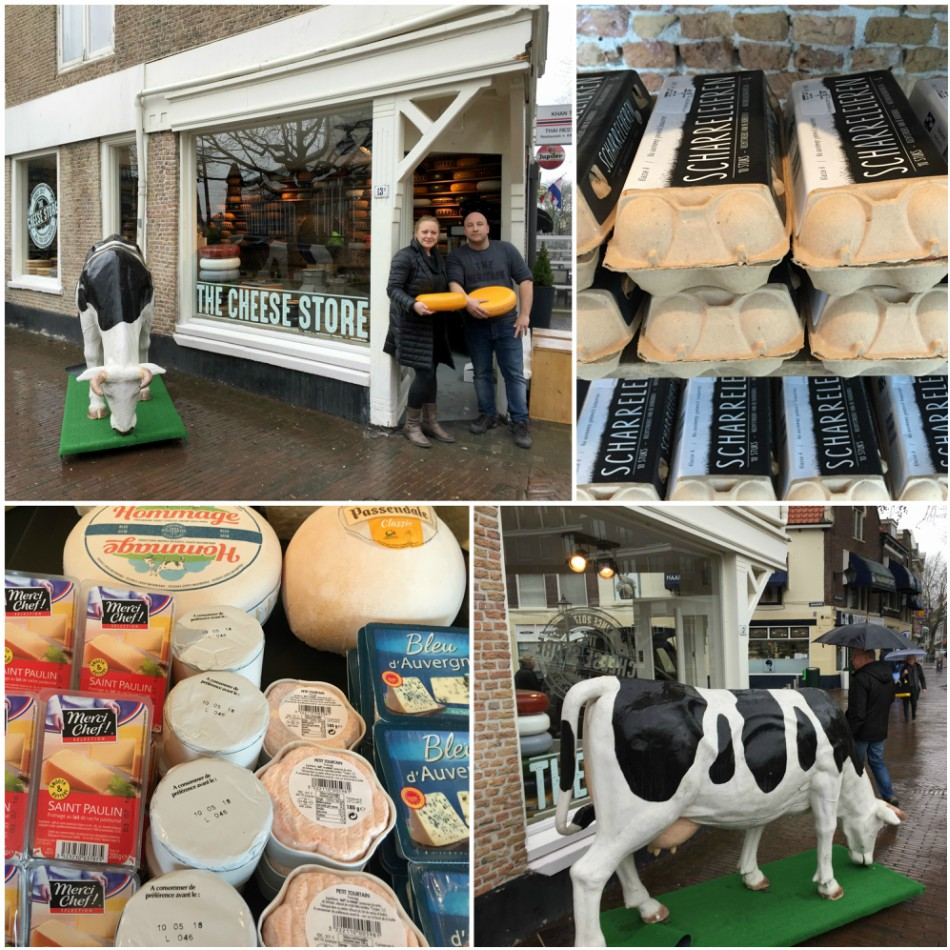The Cheese Store Schiedam collage 1 - kaaswinkel op Land van Belofte 13b