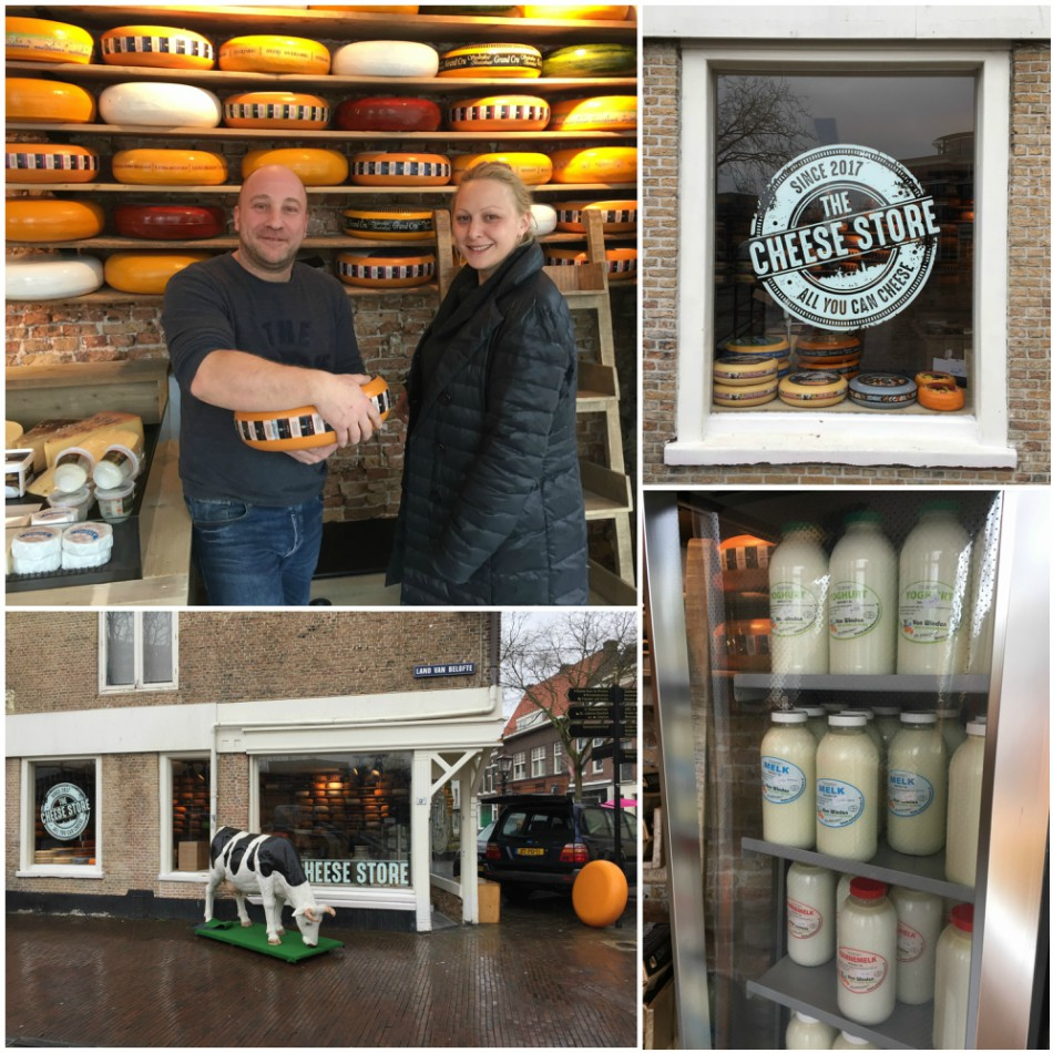 The Cheese Store Schiedam collage 2 - kaaswinkel op Land van Belofte 13b